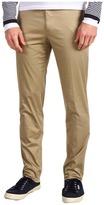 Michael Kors Stretch Slim Woven Pant (Khaki) - Apparel