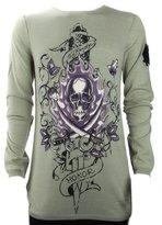 Ed Hardy Mens Skull Sweater