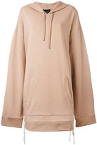 Fenty X Puma - hooded oversized sweatshirt - women - Cotton/Polyester/Spandex/Elastane - S