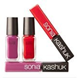Sonia Kashuk LIMITED EDITION Tips and Lips - Lip and Nall Color - 2 Mini Nail and 2 Mini Lip Set