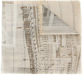 Al Duca D'Aosta 1902 - landscape print scarf - men - Wool - One Size