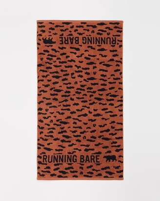 Running Bare It's A Jungle Out There Towel