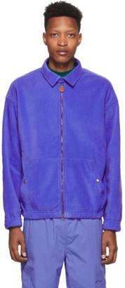 Aimé Leon Dore Blue Fleece Full-Zip Jacket