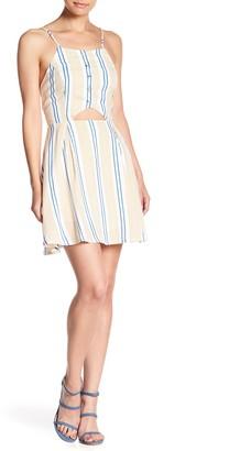 J.o.a. Spaghetti Strap Stripe Dress