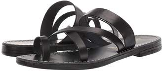 Seychelles So Precious (Black Leather) Women's Sandals