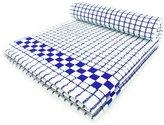 Fecido Classic Kitchen Dish Towels - Heavy Duty - Super Absorbent - 100% Cotton - Professional Grade Dish Cloths - European Made Tea Towels - Set of Two, Blue
