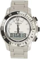 Tissot Men's T0264201103100 Sea Touch Quartz Chronograph Touch Screen Dial Watch