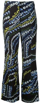 Erdem Flower Print Trousers