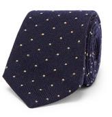 Brunello Cucinelli 7cm Polka-Dot Wool and Silk-Blend Tie