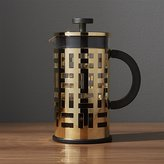 Crate & Barrel Bodum ® Eileen Gold French Press Coffeemaker