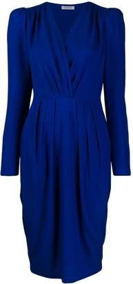 P.A.R.O.S.H. midi wrap dress