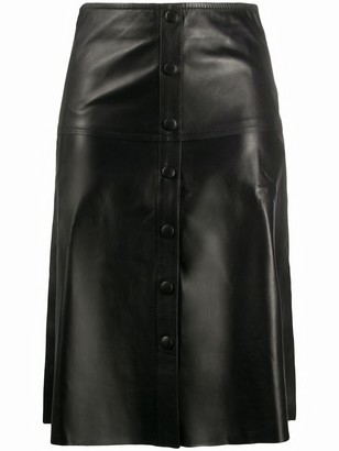Stand Studio Buttoned A-Line Skirt