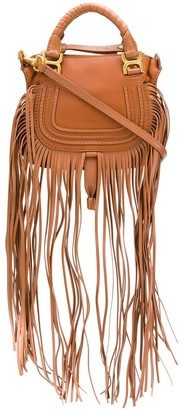 Chloé fringed Marcie tote bag