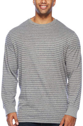 The Foundry Supply Co. The Foundry Big & Tall Supply Co.-Big and Tall Mens Crew Neck Long Sleeve T-Shirt