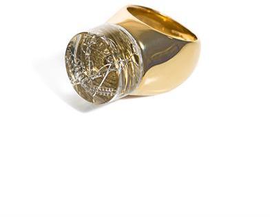 Chloé Bettina embellished resin ring