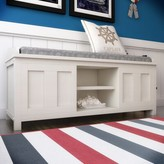 Beachcrest Home Gainsborough Upholstered Storage Bench