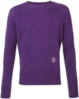 The Elder Statesman cashmere monogram jumper