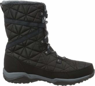 Columbia Women Loveland Mid Omni-Heat Waterproof Snow Boots Black (Black Sea Salt 010) 3 UK 36 EU