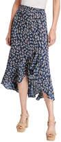 Max Studio Ruffle-Hem Maxi Skirt