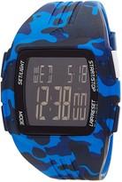 adidas Men's Duramo Blue Camo Watch