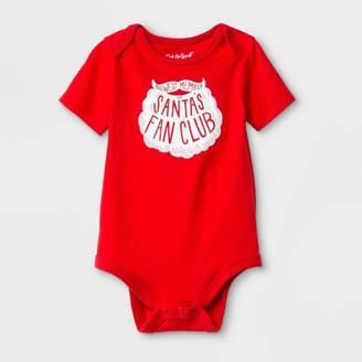 "Cat & Jack Baby ""Santa's Fan Club"" Bodysuit - Cat & JackTM"
