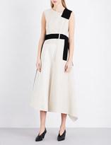 Sportmax Crimea linen-blend dress