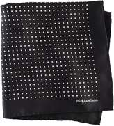 Ralph Lauren Polka-Dot Silk Pocket Square