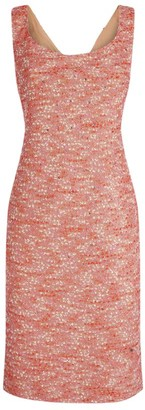 St. John Confetti Tweed Knit Dress