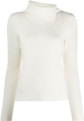 Fabiana Filippi Long-Sleeve Knitted Top
