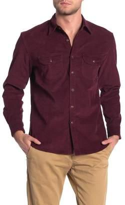J.Crew J. Crew Corduroy Front Button Classic Fit Shirt