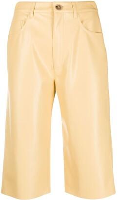 Nanushka Knee-Length Straight Shorts