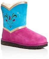 UGG Girls' Frozen Elsa Coronation Boots - Little Kid, Big Kid