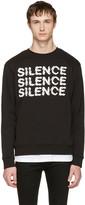 McQ by Alexander McQueen Black silence Clean Sweatshirt