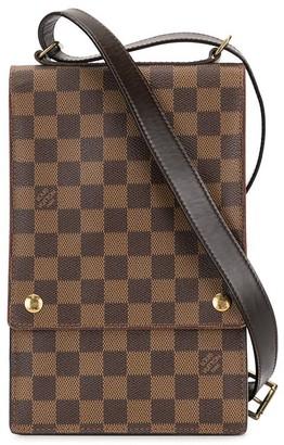 Louis Vuitton 1998 pre-owned Damier Ebene Portbello Travel shoulder bag