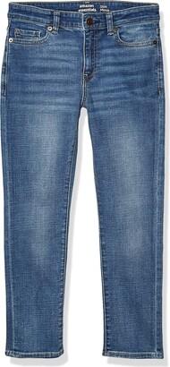 Amazon Essentials Boys' Slim-fit Jeans Doppler/Light Wash 10S US