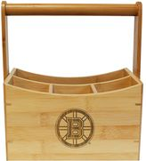 Boston Bruins Bamboo Utensil Caddy