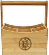 Boston Bruins Bamboo Utensil Caddy