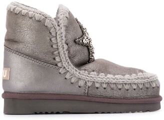 Mou crystal star Eskimo boots