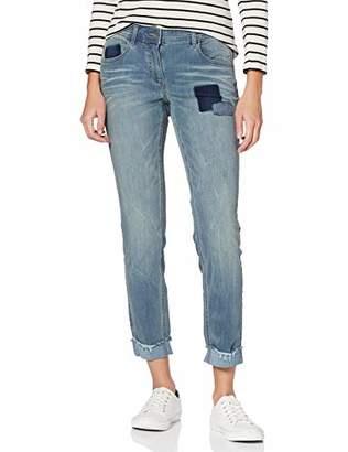 Taifun Women's 420038-11301 Slim Jeans,(Size: 40)