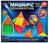 Household Essentials Cra-Z-Art Magrific 28 piece Magnetic Tiles