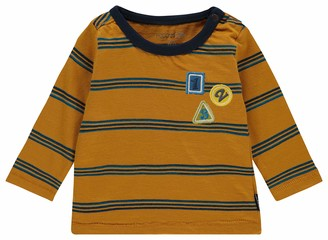 Noppies Baby_Boy's B Tee Regular ls Alabaster T-Shirt