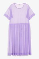 Monki Tulle midi dress