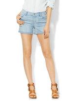 "New York & Co. Soho Jeans - Bowery 4"" Short - Diamond Blue Wash"