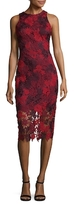 Alexia Admor Fitted Floral Dress