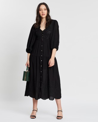 Keepsake Without Me Midi Dress