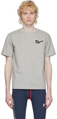 District Vision Grey Intoku Slow T-Shirt