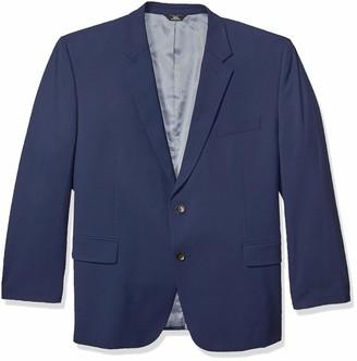 Haggar J.M. Men's Big and Tall B&T 4-Way Stretch Solid Gab Slim Fit Suit Separate Coat