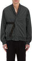 Robert Geller Men's Belted Cotton-Blend Twill Bomber Jacket