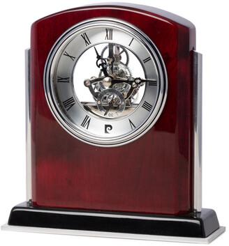 Bey-Berk Croft Rosewood Skeleton Clock