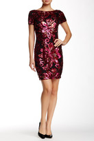Alexia Admor Short Sleeve Sequin Dress